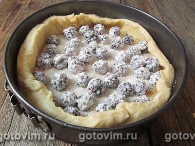 Дрожжевой пирог с ежевикой, Шаг 07
