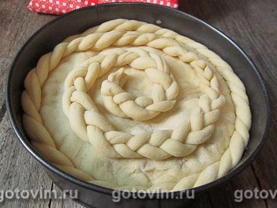 Дрожжевой пирог с ежевикой, Шаг 09