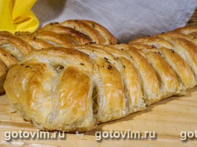 Пирог на кефире рецепт с фото пошаговый