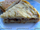 Пирог картофельный с капустой