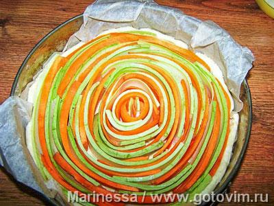 Овощной пирог «Меланж», Шаг 04
