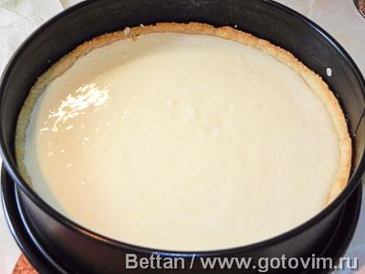 Пирог с нектаринами и йогуртом, Шаг 06