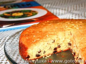 Пирог греческий с лимоном и йогуртом