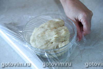 Плетеный пирог из хрущевского теста с картофелем и грибами, Шаг 01