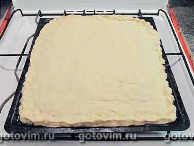 Постный пирог со шпинатом, Шаг 05