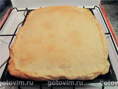 Постный пирог со шпинатом, Шаг 06