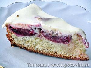 Сливовый пирог со сметанной заливкой «Слива в сметане»