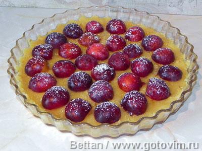 Пирог со сливами элементарный, Шаг 05
