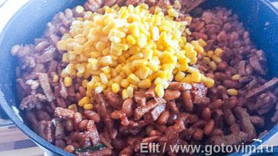 Пирог с телятиной по мексиканским мотивам , Шаг 04