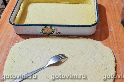 Пирог с тертыми яблоками, Шаг 05