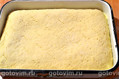Пирог с тертыми яблоками, Шаг 07
