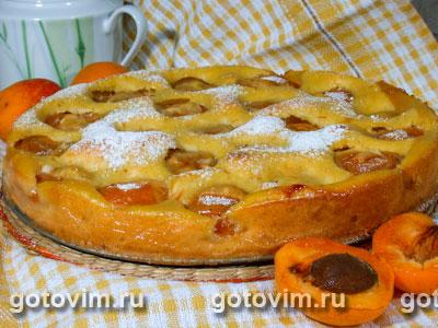Тирольский пирог с абрикосами. Фото-рецепт