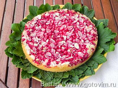 Пирог-тянучка со смородиной. Фотография рецепта