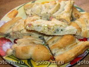 Пирог-улитка с двумя начинками
