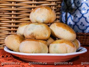Пирожки с лисичками