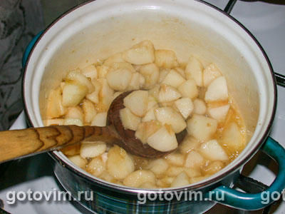 Пирожки из дрожжевого теста с яблоками, Шаг 01