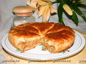 Питивир (слоеный пирог с орехами)