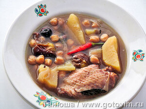 Азербайджанский мясной суп пити