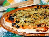 Пицца с сушеными грибами