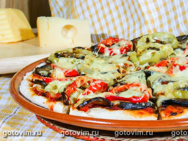 Пицца с баклажанами рецепт