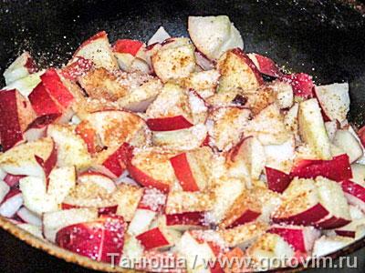 Прити-лакшанам (блинный яблочный пирог), Шаг 04