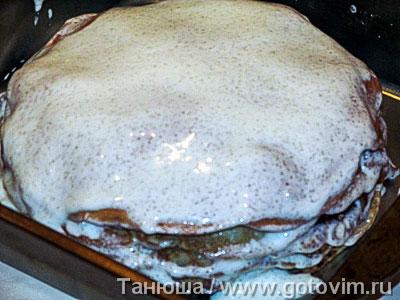Прити-лакшанам (блинный яблочный пирог), Шаг 07