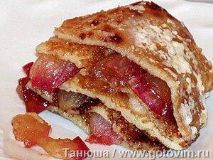 Прити-лакшанам (блинный яблочный пирог)