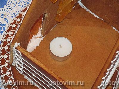 Рождественский пряничный домик - рецепт пошаговый с фото