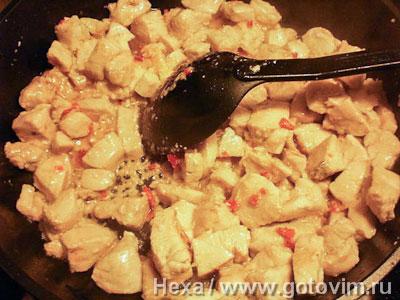Фотографии рецепта Пряная курица терияки, Шаг 06