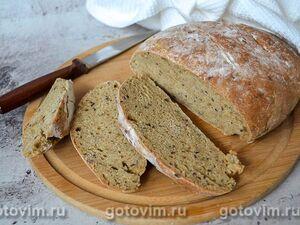 Пшенично-ржаной хлеб на сыворотке
