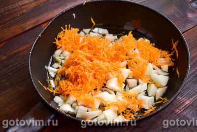 Рагу из тыквы с мясным фаршем и овощами в мультиварке, Шаг 02
