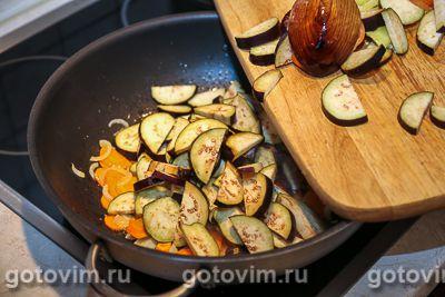 Овощное рагу из баклажанов с фасолью, Шаг 04