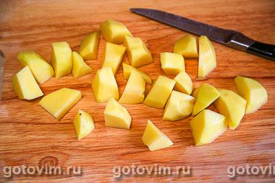 Рагу из говядины с картофелем и можжевельником, Шаг 03