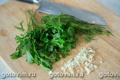 Жареные кабачки с помидорами, Шаг 04