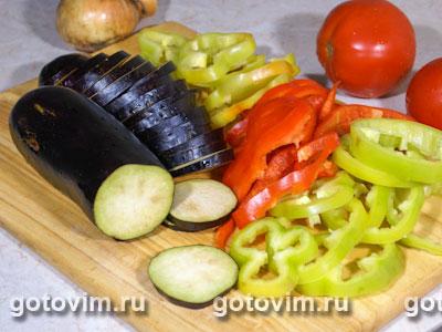 Фотографии рецепта Овощное рагу с рисом, Шаг 01
