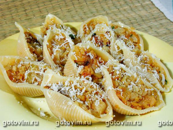 Ракушки макароны с фаршем рецепт пошагово в духовке