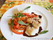 Рыба с овощами по-китайским мотивам