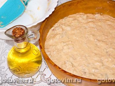 Фотографии рецепта Дрожжевой заливной пирог с рыбой, Шаг 04