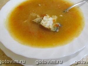 Рыбный суп-пюре с тыквой