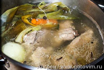 Итальянский суп с фасолью риболлита, Шаг 01