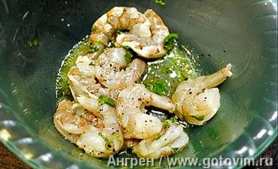 Фотографии рецепта Рыбная вариация с тыквенным пюре и тартаром из яблок и цуккини, Шаг 02