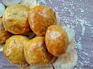 Рисовые булочки с корицей
