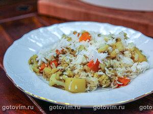 Овощной бириани