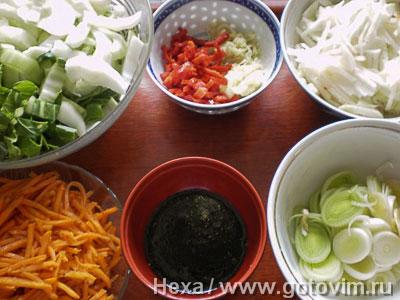 Рисовая лапша с мясом по-китайски, Шаг 01
