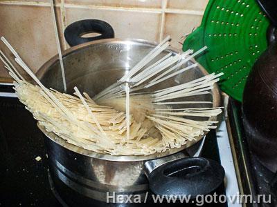 Рисовая лапша с мясом по-китайски, Шаг 04