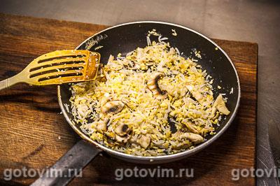 Рис по-пекински с грибами, Шаг 06