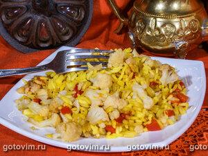 Летний рис (рис с  овощами)