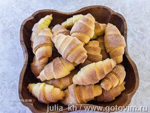 Рогалики из сладкого картофеля