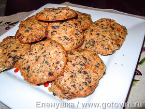 Рождественские печенки (Joulucookiet)