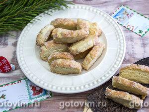 Рождественское печенье «Снежка»